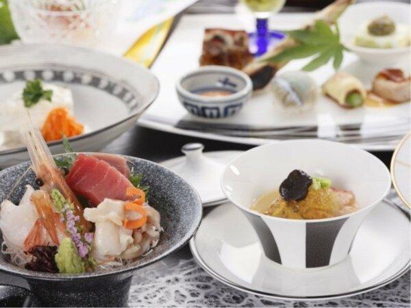 会席膳(フルコース)プランご夕食(例)