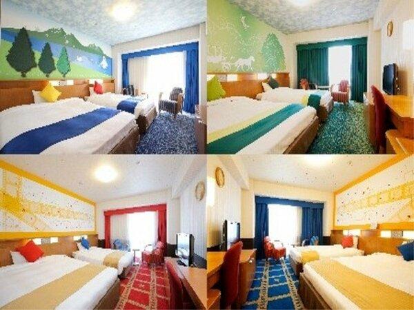 コンフォートルーム(2~4名様/27平米)内装はホテルにおまかせ!