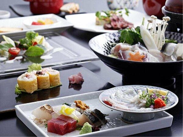 和食&フレンチの創作ふぐ料理のコース