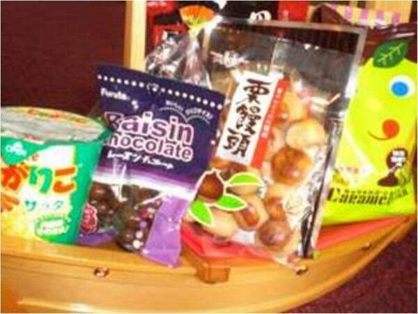お菓子の舟盛り☆