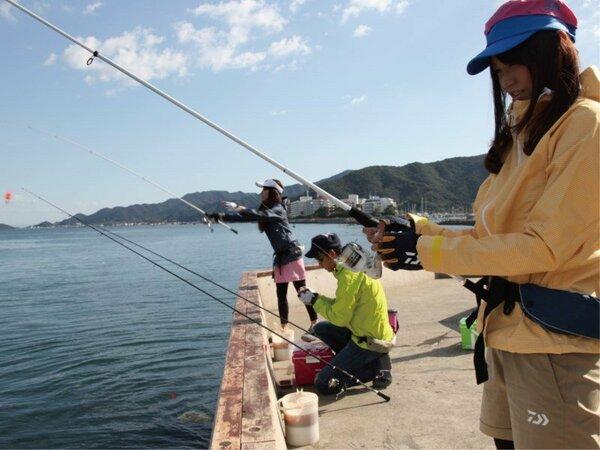 プライベート釣り場は24時間利用可能!!