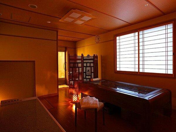 岩盤浴ベット付貸切家族風呂「なごみ湯」(バリアフリー対応)
