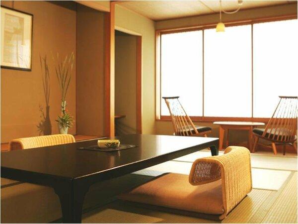 【コンフォートフロア和室12帖】ハーバービューの松涛閣最上階の6階に位置