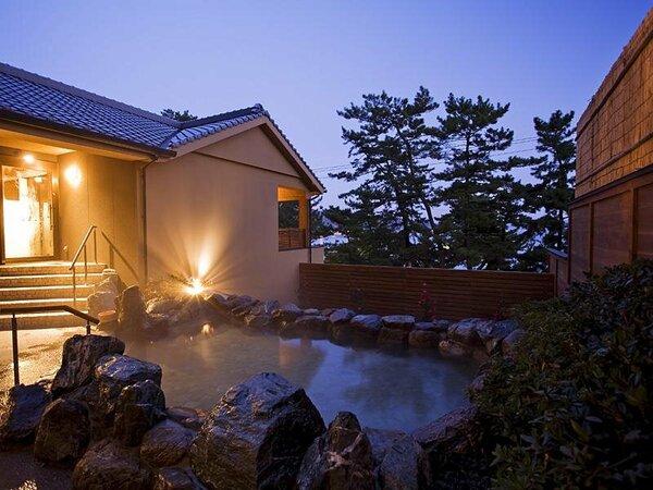離れスパ「海音の森」露天風呂