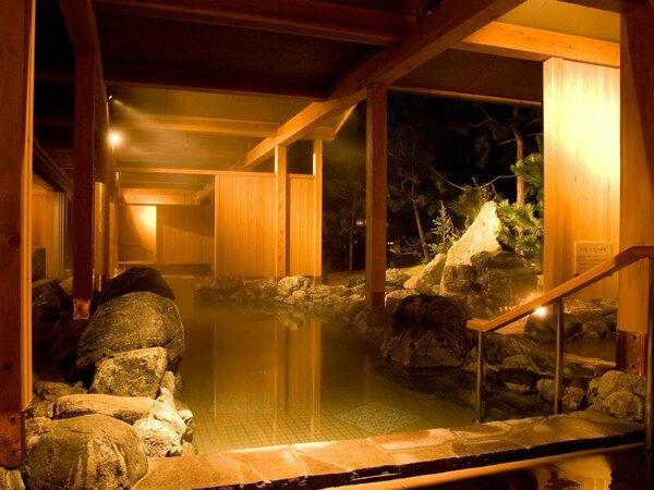 2008年12月にオープンした「くにうみの湯」は古事記に語り継がれる国生み神話になぞらえた湯殿