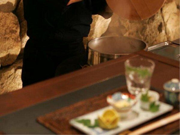 ジャズが流れるオープンキッチン<バル淡道(あわじ)>で大人のご夕食を・・・