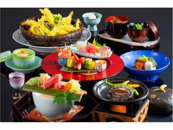 ※天ぷらは4名様分(お料理のイメージ)