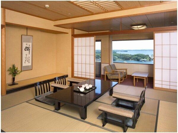 ~華陽(かよう)棟 客室一例~ 賢島宝生苑開業時に新築した客室棟で、お部屋・お料理ともに上クラスの内容