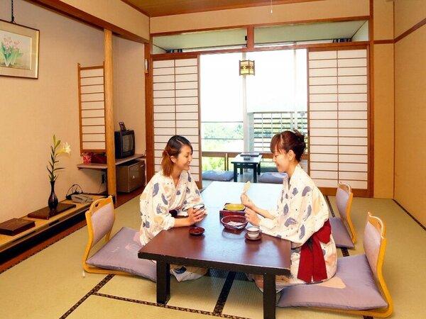 1人でも和室のお部屋でゆっくりお休みいただけます。※写真はモデルです。