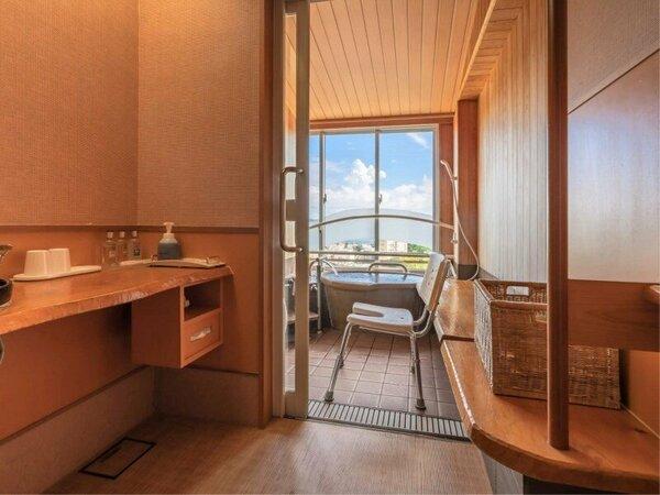 半露天風呂付■和洋室■ユニバーサル【Wi-Fi】