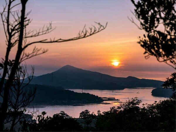 朝に夕に美しい、鳥羽湾を一望
