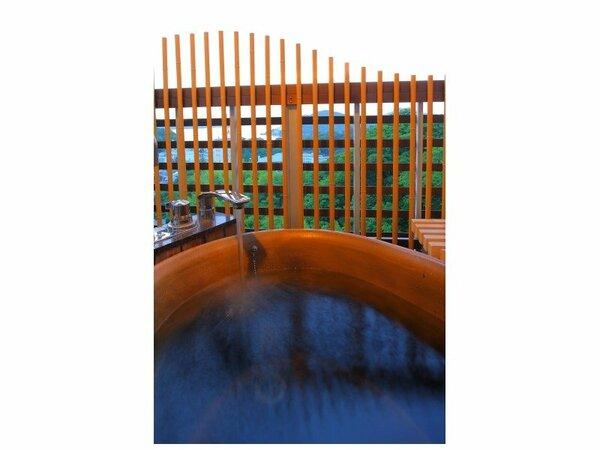 絶景の露天風呂付き客室