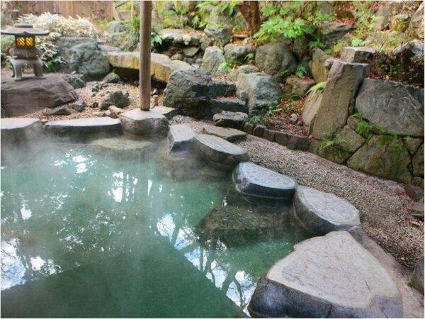 【露天風呂】天然温泉です~