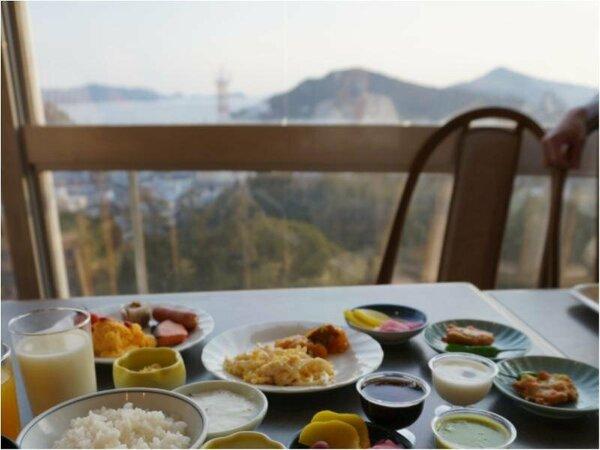 【朝食バイキング】レストランから望む鳥羽湾の絶景!