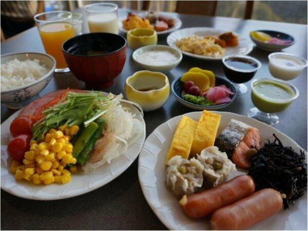 【朝食バイキング】おかわり自由を好きなだけ♪
