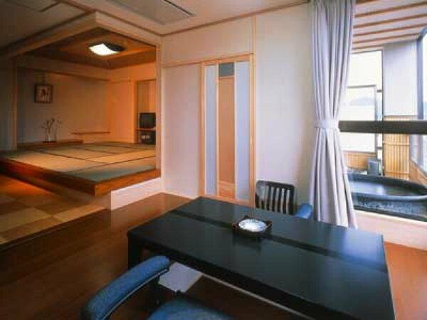 露天風呂付和洋風特別室(一例)