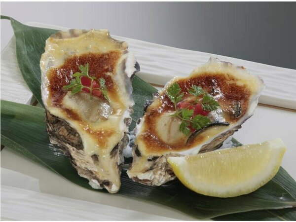 料理の一例(イメージ)【A】牡蠣の洋風焼(2個)