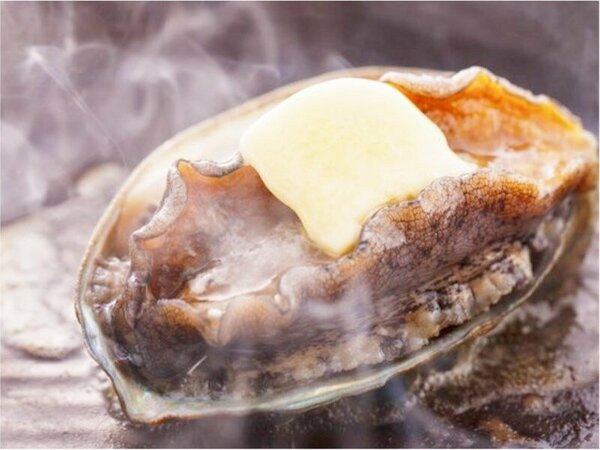 あわびバター陶板焼(お料理イメージ一例)