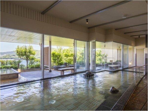望(のぞみ)館6階 風見の湯(男湯) 内風呂