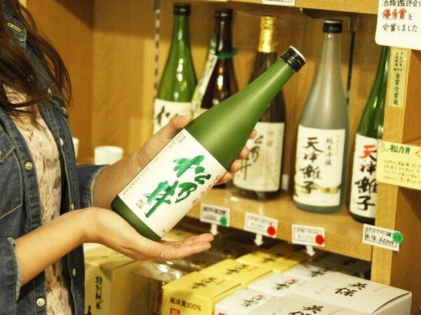 【売店】新潟の地酒や魚沼産コシヒカリなど、新潟・十日町ならではのお土産をご用意しております。