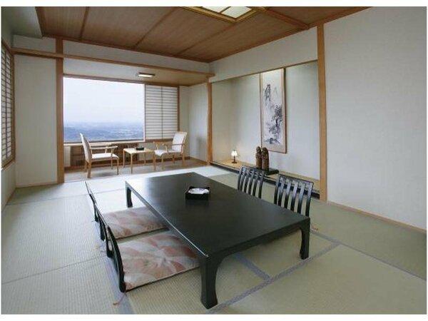 【標準客室】広大な関東平野ときらめく夜景が望めます(客室のイメージ)