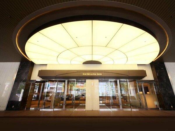 ホテルメトロポリタン仙台1F正面玄関