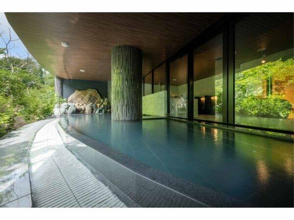 本館大浴場梵天の湯:露天風呂