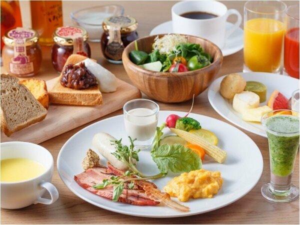 一日の活力につながるエネルギーが最大限にチャージできる朝食