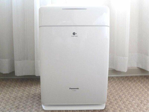 全客室に加湿空気清浄機を完備。