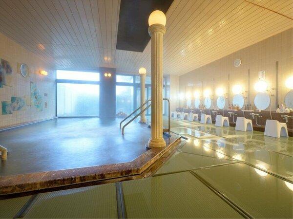2017年夏にリニューアルオープンした女性専用の畳風呂