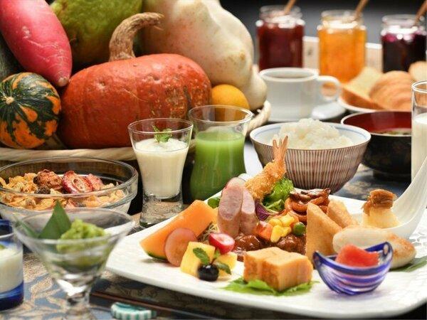健康的な朝食で元気な1日をスタートできそう