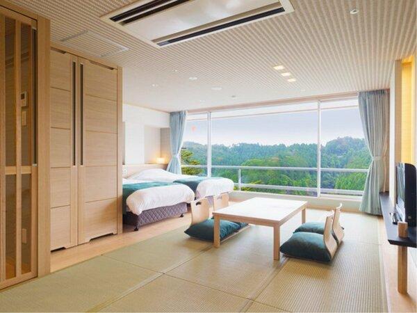 【禁煙】Wi-Fi使用可 イーストウィング1F~4F山側客室一例