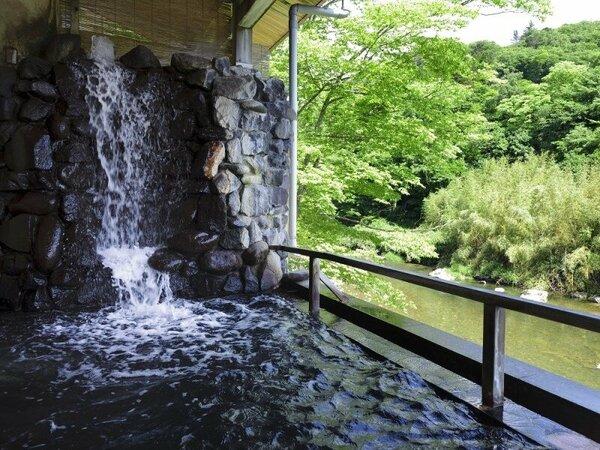 川沿い露店風呂 『天下取りの湯』