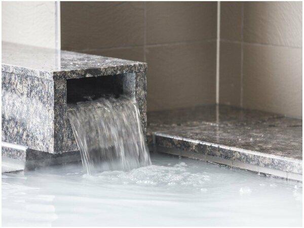 2階大浴場『絹の湯』午後15時から24時まで翌朝は6時から8時30分まで営業。