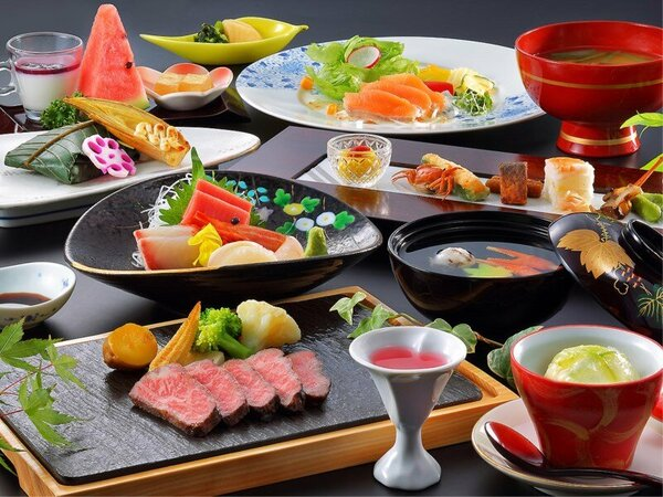当館のスタンダード料理コースです。※料理の画像はイメージになります。