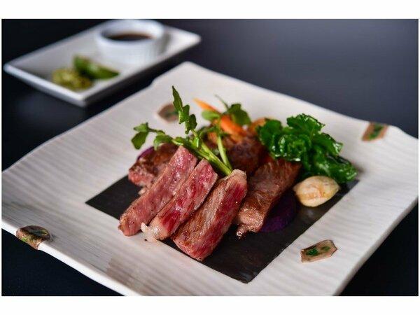 信州和牛のステーキ※写真はイメージです。