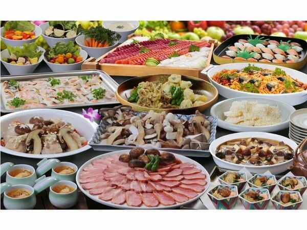 料理の一例(イメージ)夕食バイキング