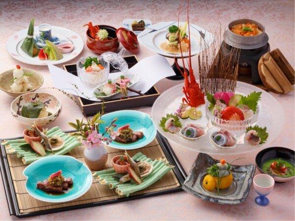 【春のプラチナ料理イメージ】最上級ランク料理!焼八寸料理は特におススメ♪
