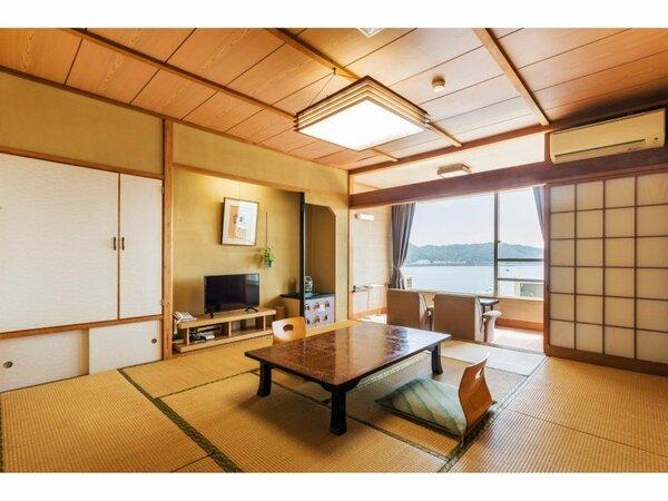 ■西館 一般客室■和室8畳もしくは10畳、全室海側、トイレ付き・バス無し客室