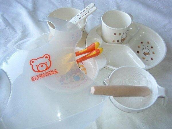 赤ちゃん用の食器のご用意もしてます