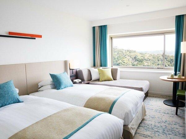 オーシャンビュースーペリアツイン24平米の客室例