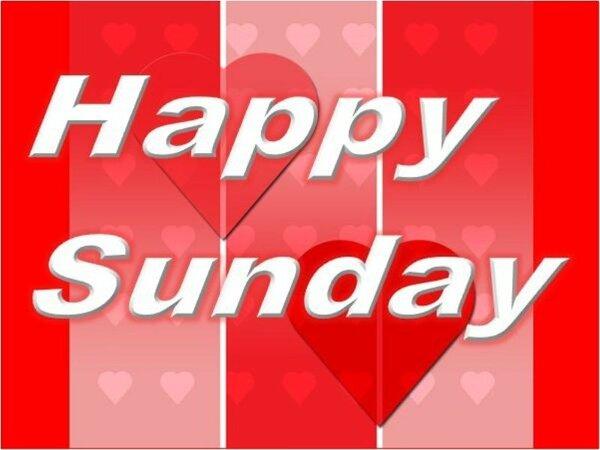 お得な日曜日割引きプラン「Happy Sunday」です♪