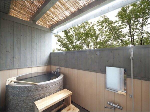 1F和室の半露天風呂♪