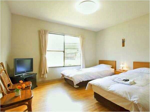 ◆ツイン洋室◆ベッドタイプの洋室もあり。