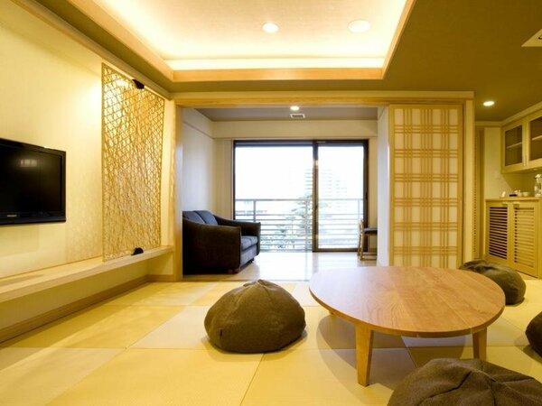 客室【千鳥】琉球畳のモダン和室