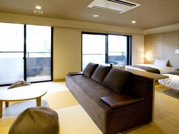客室【羽衣】機能性とゆとりの和洋室