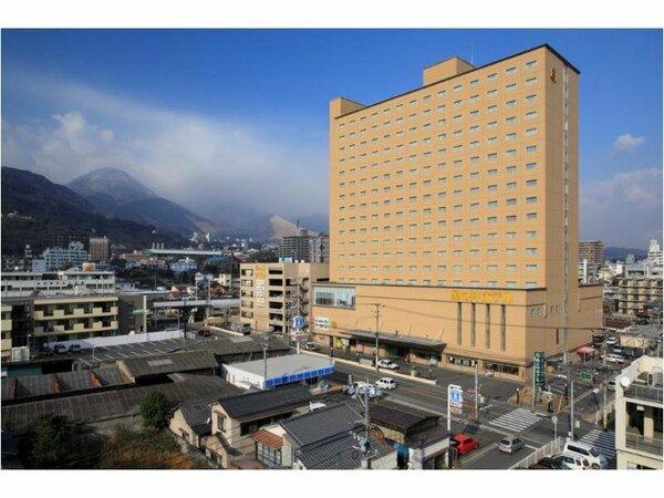 亀の井ホテル別府店 外観