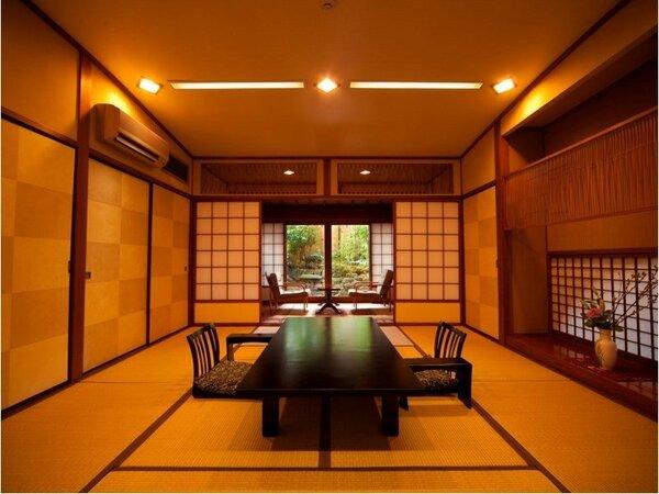 【露天風呂付客室】けやき…和室10畳+広縁