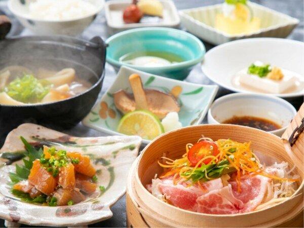 朝食イメージ※表示画像はイメージです。季節などによりお料理内容が変わります。