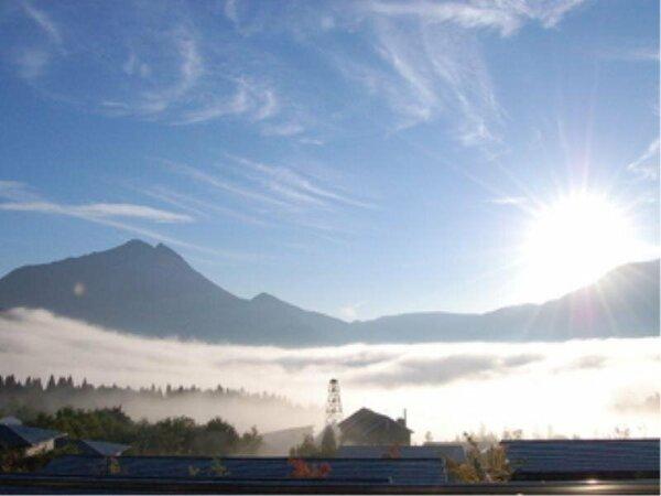すごい朝霧